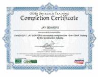 Jay Seavers OSHA
