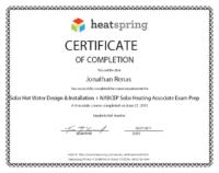 Jon Renas Solar Hotwater Design