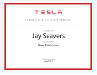 Jay Seavers TESLA