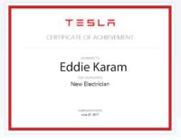Eddie Karam TESLA