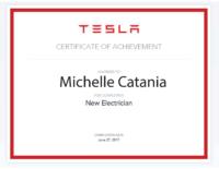 Michelle Catania TESLA