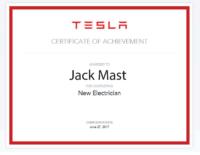 Jack Mast TESLA