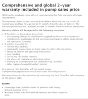 Grundfos AC pump