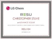 Stuve-RESU10 LG CHEM