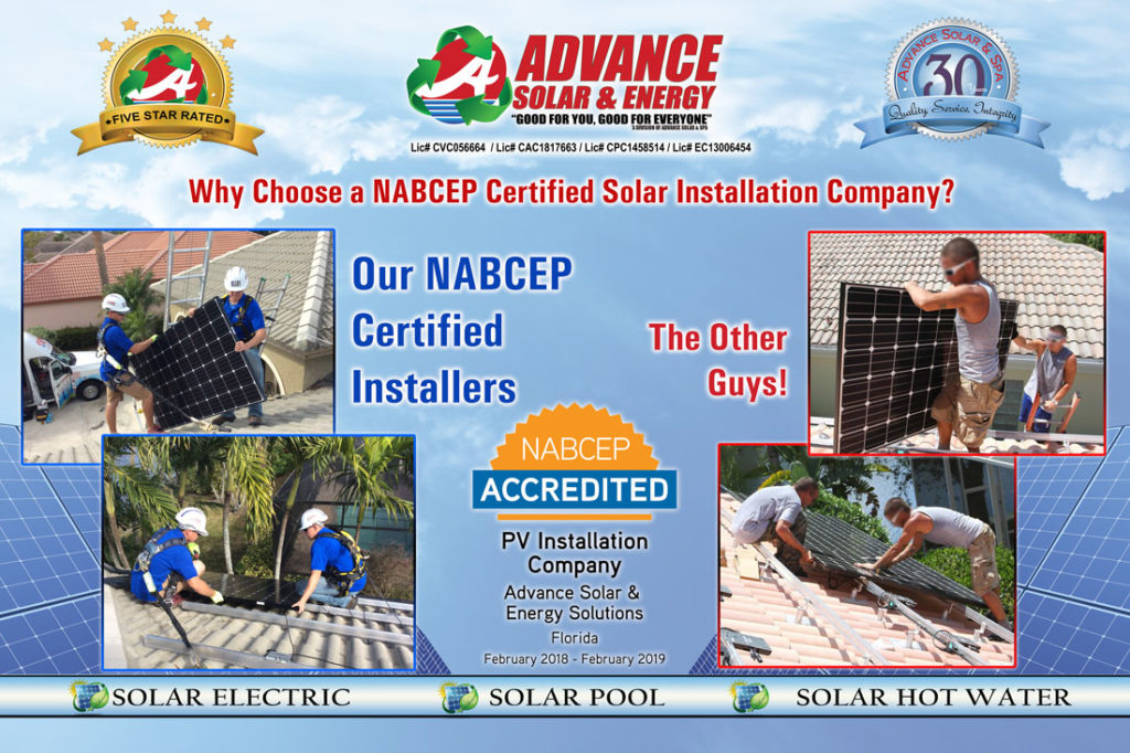 Nabcep Advance Solar And Spa