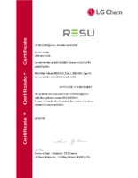 Brandon N. [LG Chem] Certified Installer for RESU10H