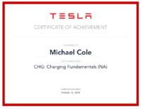 Michael Cole Tesla Cert 3