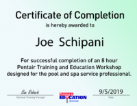 Pentair Certificates-01